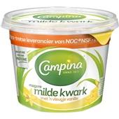 Campina kwark mager vanille voorkant