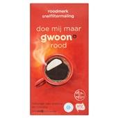 Gwoon koffie snelfitermaling rood voorkant