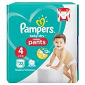 Pampers baby dry pants luierbroekjes maxi 4 voorkant