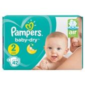 Pampers baby dry luiers mini 2  voorkant