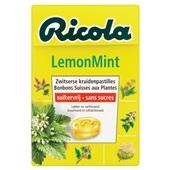 Ricola Suikerwerk Lemon Mint voorkant