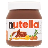 Nutella Pasta Hazelnoot voorkant