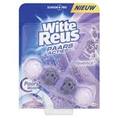 Witte Reus paars actief toiletblok Provence lavendel voorkant