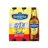 Bavaria Radler Lemon  0.0% 6X30CL voorkant