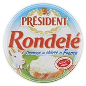 President Rondelé Geitenkaas Chevre Fromage voorkant