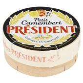 President Camembert Petit achterkant