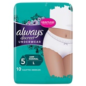 Always Discreet Underwear Normaal Large voorkant