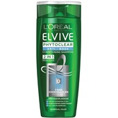 Elvive shampoo phytoclear anti-roos 2-in-1 voorkant