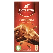 Côte d'Or L'original chocolade Melk voorkant