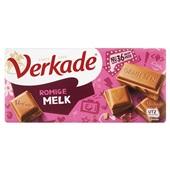 Verkade chocoladereep Romige Melk voorkant