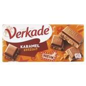 Verkade chocoladereep Karamel Zeezout voorkant