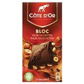 Côte d'Or Bloc chocolade Puur Hazelnoten  voorkant