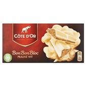 Côte d'Or BonBonBloc chocolade Praliné Wit voorkant