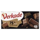 Verkade chocoladereep Extra Puur  voorkant