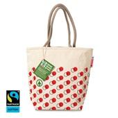 Spar luxe tas canvas  voorkant