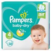 Pampers Baby Dry Luiers 4 Maxi voorkant