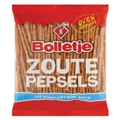 Bolletje Zoutjes Zoute Pepsels voorkant