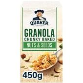 Quaker havermout Granola Noten & Zaden voorkant