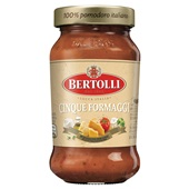 Bertolli pastasaus Cinque Formaggi voorkant
