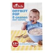 Bonbébé Baby/Peuter Pap Ontbijtpap 8 Granen Met Honing voorkant