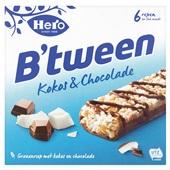 Hero B'tween  granenreep kokos & chocolade voorkant