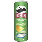Pringles Chips Sour Cream Onion voorkant