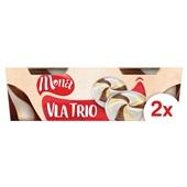 Mona Mona trio vla vanille, chocolade en slagroom voorkant