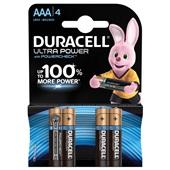 Duracell batterijen Ultra Power AAA voorkant