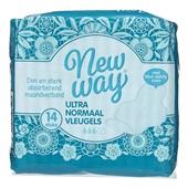 Newway maandverband ultra normaal met vleugels voorkant