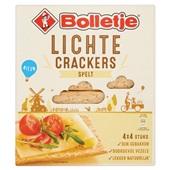 Bolletje lichte crackers spelt voorkant