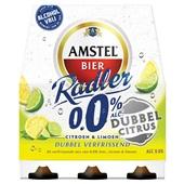 Amstel Radler dubbel citrus 0.0% voorkant