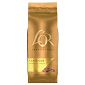 Douwe Egberts L'OR koffiebonen crema voorkant