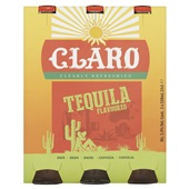 Claro bier tequila flavoured voorkant