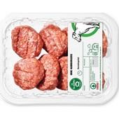 Spar mini hamburgers voorkant
