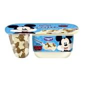 Danone Mickey Mouse Yoghurt Vanille Met Chocolade voorkant