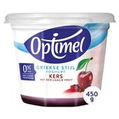 Optimel Yoghurt Griekse Stijl Kers voorkant