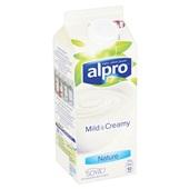 Alpro Mild & Creamy Yoghurtvariatie Naturel achterkant