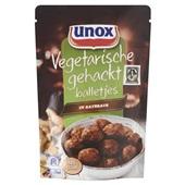 Unox vegetarische gehacktballetjes in satésaus voorkant
