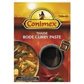 Conimex rode curry paste voorkant