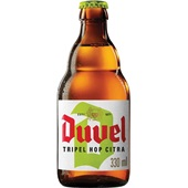 Duvel speciaal bier tripel hop fles 33cl voorkant
