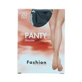 Foot-Leg panty mousse zwart maat 36-40, 20 denier voorkant