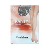 Foot-Leg panty mousse skyhaze maat 44-48, 20 denier voorkant