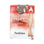 Fashion panty mousse wineblush met tussenstuk maat 48-52, 20 denier voorkant