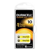 Duracell batterijen hoor 10 voorkant