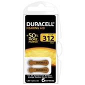 Duracell batterijen hoor 312 voorkant