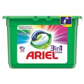 Ariel 3 in 1 pods wascapsules color & style voorkant
