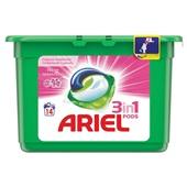 Ariel 3 in 1 pods wascapsules fresh sensation pink voorkant