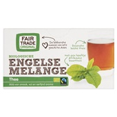 Fair Trade Biologisch Thee Engelse Melange voorkant