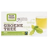 Fair Trade Biologisch Thee Groen voorkant
