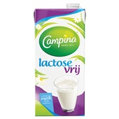Campina lactose vrije melk voorkant